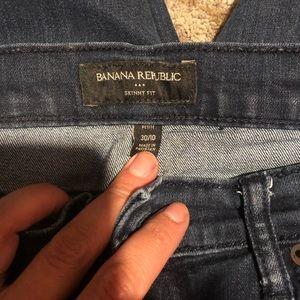 Banana republic petite skinny fit jeans